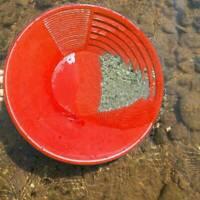 "Metal Detector Gold Rush Prospecting Classifier Pan Mining Dredging Tool 15"" Pan"