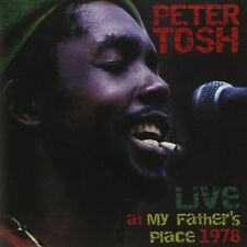 Peter Tosh Live At My Father's Place 1978 NEW SEALED Reggae Legalize It+