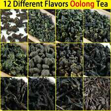 12 Different Flavors 2018 Oolong Tea Including Tieguanyin Dahongpao 93g in Total