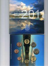 Estland  BU set 2011  1 ct t/m 2 euro  8 munten