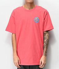 SANTA CRUZ Men's S/S T-Shirt SPILL DOT - COR - Large - NWT