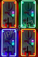 TW-389 Anti Finishing Colorful LED Light Coin Mech Acceptor for Vending Machines