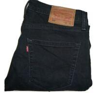 Mens Levi's 512 Dark Blue (0062) Slim Tapered Stretch Denim Jeans W32 L34