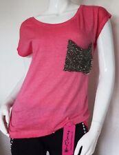 Strass-M Normalgröße Damen-T-Shirts
