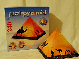 PuzzlePyramid  Impressions of Africa  Ravensburger 240 pieces 3D Jigsaw Puzzle