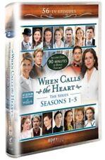 WHEN CALLS THE HEART: Seasons 1-5 All COMPLETE Season 1 2 3 4 5 Hallmark Series