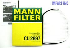 Mercedes Fresh Air Cabin Filter 202 830 00 18 MANN CU2897