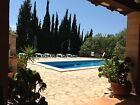 Mallorca Finca Landhaus  Juli August 2 Personen im Doppelzimmer mit Frühstück