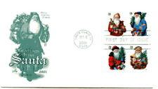 3537a-40a 34c Santas 2001, Booklet, ArtCraft FDC
