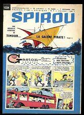 JOURNAL DE SPIROU N°1334  7 novembre 1963  complet +  Mini Récit n°190 DE GIETER