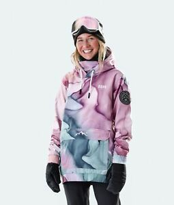 Dope Wylie 2021 Womens Snowboard Ski Jacket Snow Hoodie Mirage Medium NEW