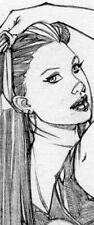 HOT ROGUE SAVAGE GIRL SK#1298 FANTASY ORIGINAL PINUP GIRL ART by ALEX MIRANDA