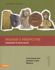 Passaggi e prospettive: 1: L'area tirolese dalla preistoria al tardo Medioevo. P