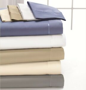 DreamFit DreamCool 100% Egyptian Cotton Sheet Set - Made in the USA (5 Colors)