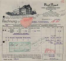 NEUGERSDORF i. Sa., Rechnung 1941, Herren- und Knaben-Kleider-Fabrik Paul Vogel