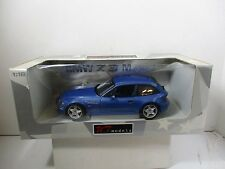 1/18 UT MODELS BLUE BMW Z3 M COUPE