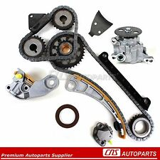 Suzuki 1.8L 2.0L 2.3L Timing Chain Gears Kit+Oil Pump G18K J18A J20A J23A Chevy
