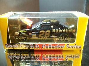 Davey Allison #28 Texaco Havoline Black & Gold 1990 Ford Thunderbird RCCA 1:64