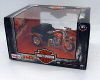 Moto Harley-Davidson 1947 Servi-Car de Maisto 1:18