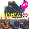 Women Arch Support Boots - 2019 New Fishion 3 Color Autumn Hot Flat Heel Boots