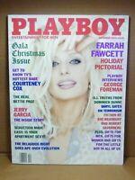 Playboy December 1995 - Farrah Fawcett