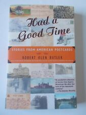 Had a Good Time Book American Postcards Stories Butler Fiction Travel Literature
