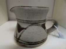 AUSTRALIAN POTTERY LES BLAKEBROUGH JUG STAMPED TO BASE
