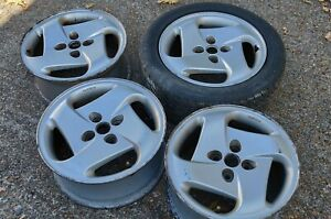 4 Alloy Wheels Genuine Fiat Coupe