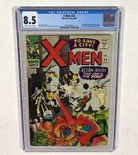 X-MEN #23 CGC 8.5 High Grade KEY! (Count Nefaria appearance!) 1966 Marvel Comics