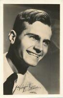 Helmut Dantine Real Photo Postcard rppc - German-American Film Actor