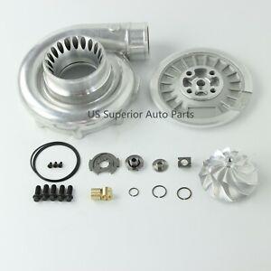 03-07 Ford Powerstroke 6.0L Upgraded  Compressor Housing Kit 63.5mm Billet Wheel