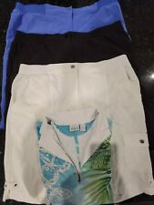 New listing Women Zenergy By Chicos Golf Clothing size 2 & XL great condition