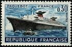 FRANCE 1962  PAQUEBOT FRANCE  n° 1325 Neuf ★★ luxe / MNH