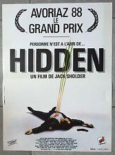 Affiche HIDDEN Jack Sholder KYLE MacLACHLAN Michael Nouri 40x60cm *