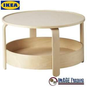 NEW IKEA BORGEBY Birch Veneer Coffee table - (27 1/2)