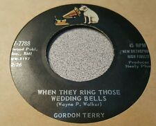 Gordon Terry – Gonna Go Down The River / When They Ring Those Wedding Bells