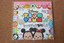 Disney Store Japan Tsum Tsum Stickers Mickey Minnie Donald Goofy Daisy US Seller