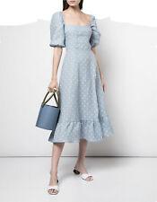 The Reformation Belgium Linen Midi Dress S 4