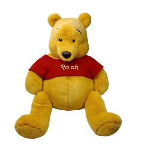 The Disney Store Large Winnie the Pooh Plush Stuffed Toy Washed Clean 64cm