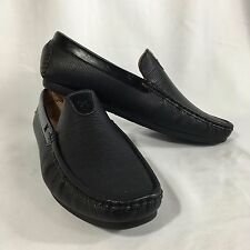 Men's Franco Vanucci Brand Black Slip On Shoes Size 13 New