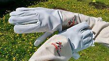 Beekeeper Gloves Beekeeping Bee gloves 100% Leather & Cotton Zean gloves- 2XL