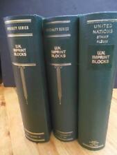 EDW1949SELL : U.N. Beautiful collection of VFMNH Inscription Blks cplt 1951-1996
