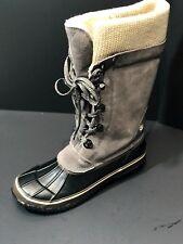 Northside Womens Sun Peak Thinsulate Waterproof Winter Boot Stone Size US 9