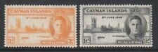 Cayman Islands - 1947, Victory set - MNH - SG 127/8