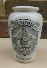 Vintage / Antique Stoneware Wigtownshire Creamery Co. Stranraer Cream Pot