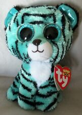 """TESS the Tiger - Ty 6 """" Beanie Boos - NEW with MINT TAGS - Justice Exclusive"""