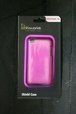 LifeWorks Lifestyle Case iPod Touch 4G Metallic Pink Shield Case