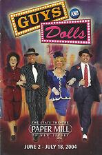"Kate Baldwin ""GUYS & DOLLS"" Robert Cuccioli / Frank Loesser 2004 Playbill"