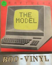 """Kraftwerk:  The Model/Computer Love   EX+  7"""""""