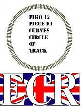 PIKO G SCALE BRASS METAL TRACK CIRCLE 12R1 CURVES FITS LGB BACHMANN 45mm GAUGE
